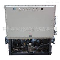 直销注塑厂专用工业冷水机150HP防爆型复叠式低温冷水机组