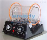 江苏南京去毛刺小型滚桶光饰机 去毛边小型那就�⒘怂�滚筒研磨机
