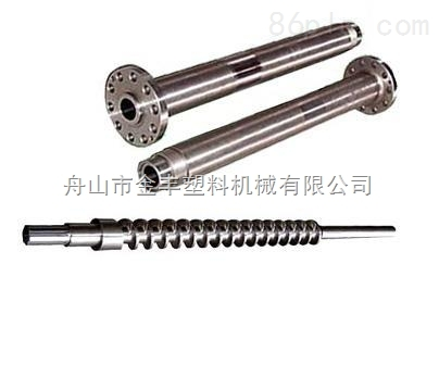 金丰螺杆-造粒机机筒螺杆