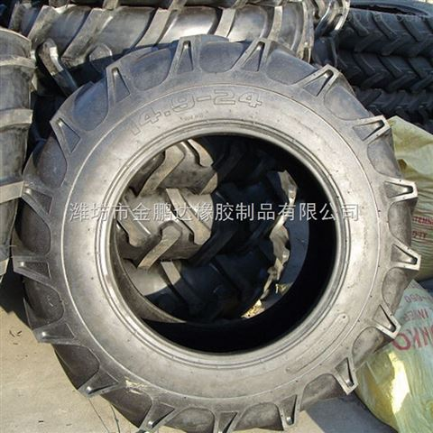 9-24人字花纹农用四轮车轮胎 拖拉机轮胎