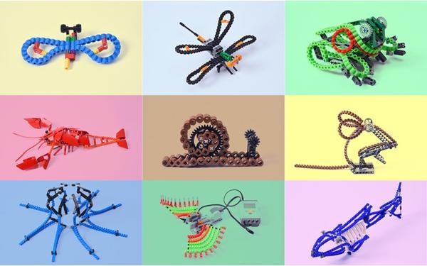 仿生设计玩具手绘图